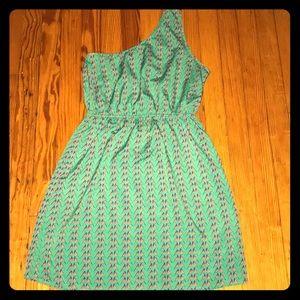 Super cute ONE SHOULDER Dress